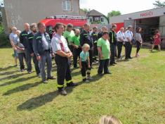 Svěcení hasičského vozu